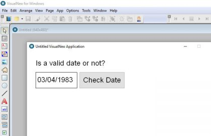 Check if a date is valid
