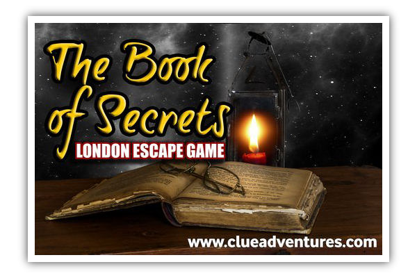The Book of Secrets Escape Game London