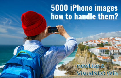 5000 iPhone images: how to handle them?